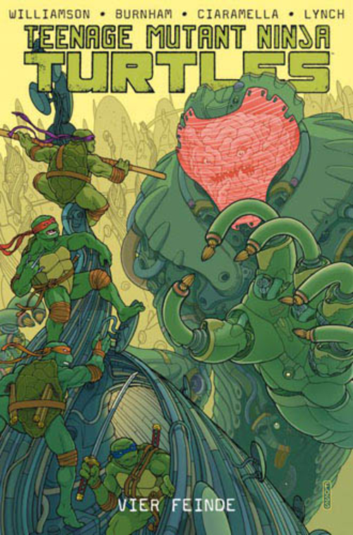 (C) Panini Comics / Teenage Mutant Ninja Turtles 8 / Zum Vergrößern auf das Bild klicken
