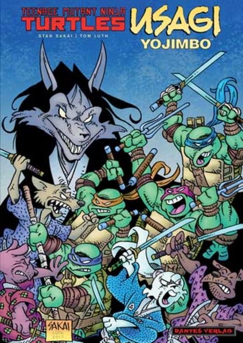 (C) Dantes Verlag / Teenage Mutant Ninja Turtles/Usagi Yojimbo - Namazu / Zum Vergrößern auf das Bild klicken