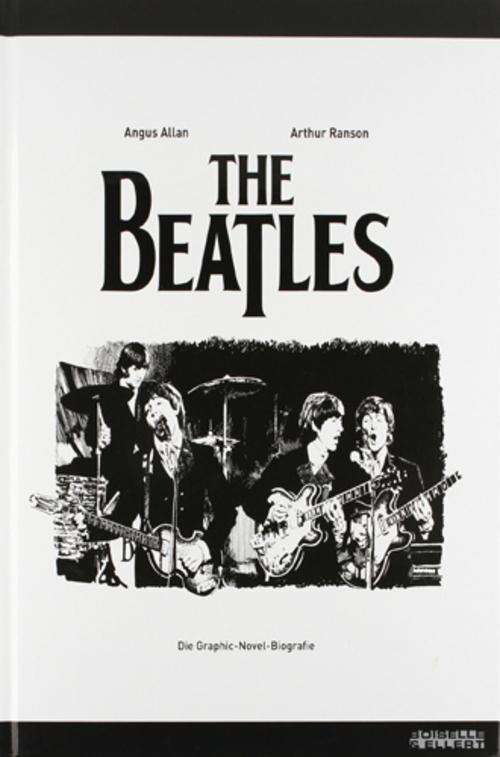 (C) Boiselle & Ellert / The Beatles: Die Graphic-Novel-Biografie / Zum Vergrößern auf das Bild klicken