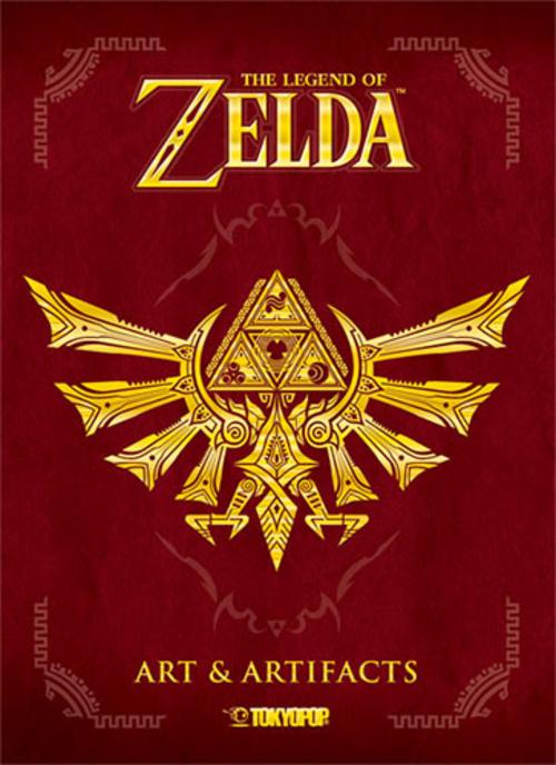 (C) Tokyopop / The Legend of Zelda: Art & Artifacts / Zum Vergrößern auf das Bild klicken