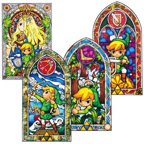 (C) getDigital.de / The Legend of Zelda Wandaufkleber / Zum Vergrößern auf das Bild klicken