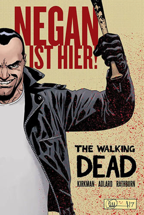 (C) Cross Cult Verlag / The Walking Dead: Negan ist hier! / Zum Vergrößern auf das Bild klicken