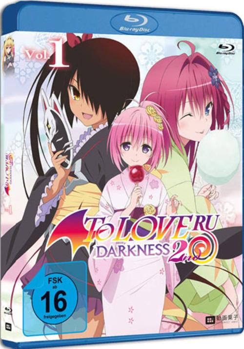 (C) FilmConfect / To Love Ru - Darkness 2nd Vol. 1 / Zum Vergrößern auf das Bild klicken