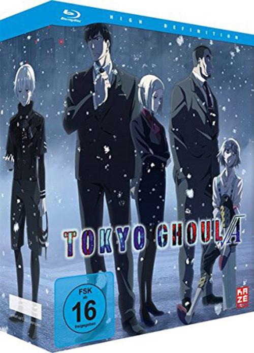 (C) KAZÉ Anime / Tokyo Ghoul Root A Vol. 1 / Zum Vergrößern auf das Bild klicken