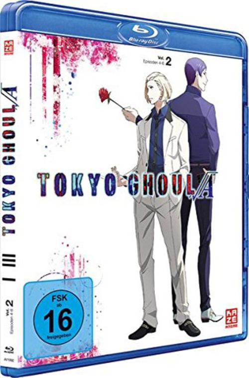 (C) KAZÉ Anime / Tokyo Ghoul Root A Vol. 2 / Zum Vergrößern auf das Bild klicken