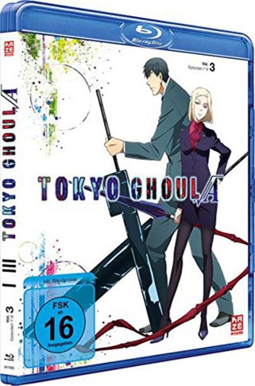 (C) KAZÉ Anime / Tokyo Ghoul Root A Vol. 3 / Zum Vergrößern auf das Bild klicken