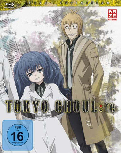 (C) KAZÉ Anime / Tokyo Ghoul:re Vol. 1 / Zum Vergrößern auf das Bild klicken