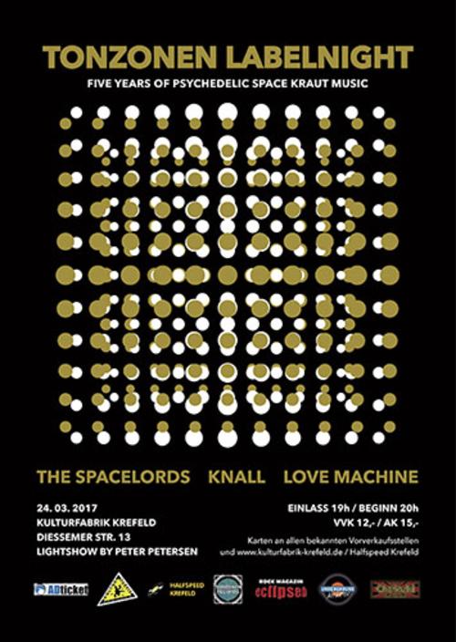 (C) Tonzonen Records / Tonzonen Labelnight Poster / Zum Vergrößern auf das Bild klicken