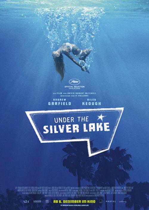 (C) Weltkino / Under the Silver Lake Kinoplakat / Zum Vergrößern auf das Bild klicken