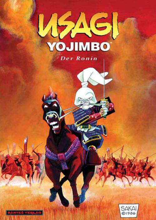 (C) Dantes Verlag / Usagi Yojimbo 1 / Zum Vergrößern auf das Bild klicken