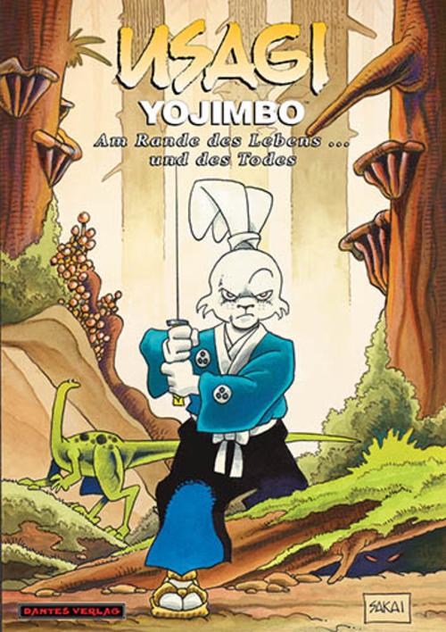 (C) Dantes Verlag / Usagi Yojimbo 10 / Zum Vergrößern auf das Bild klicken