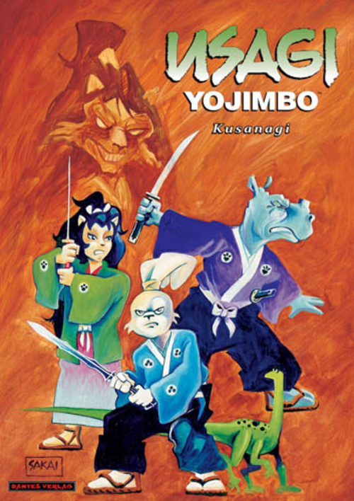 (C) Dantes Verlag / Usagi Yojimbo 12 / Zum Vergrößern auf das Bild klicken