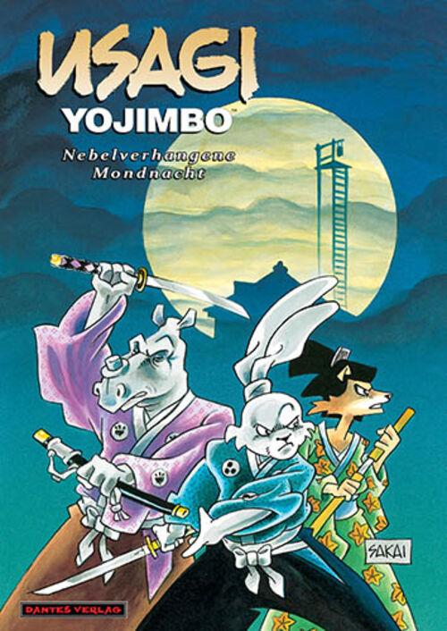 (C) Dantes Verlag / Usagi Yojimbo 16 / Zum Vergrößern auf das Bild klicken