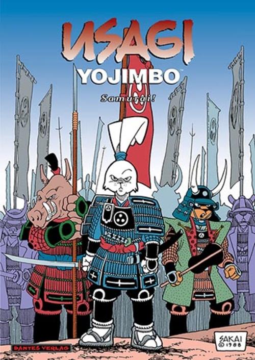 (C) Dantes Verlag / Usagi Yojimbo 2 / Zum Vergrößern auf das Bild klicken