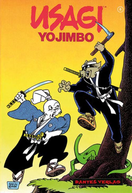 (C) Dantes Verlag / Usagi Yojimbo 5 / Zum Vergrößern auf das Bild klicken