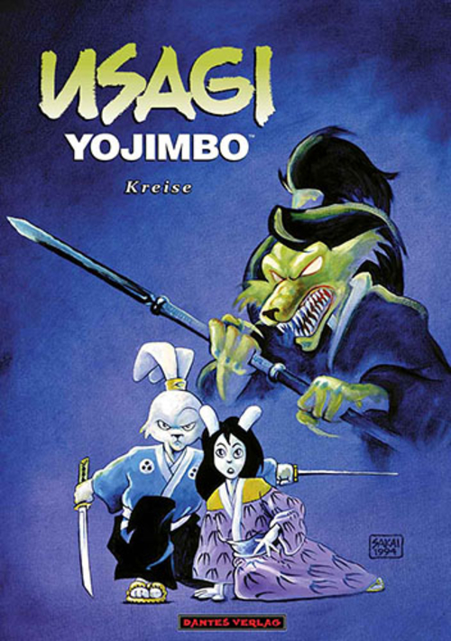 (C) Dantes Verlag / Usagi Yojimbo 6 / Zum Vergrößern auf das Bild klicken