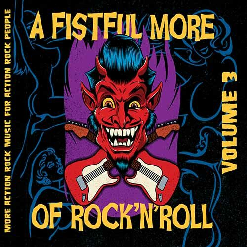 (C) Screaming Crow Records / V/A: A Fistful More Of Rock`n`Roll Vol. 3 / Zum Vergrößern auf das Bild klicken