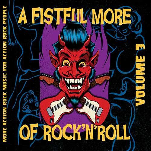 (C) Screaming Crow Records / V/A: A Fistful More Of Rock`n`Roll Vol. 3 / Zum Vergrößern auf das Bild klicken