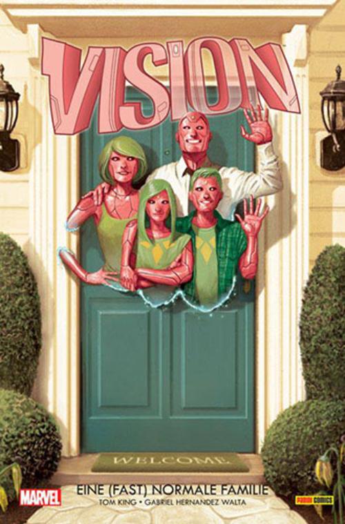 (C) Panini Comics / Vision 1 / Zum Vergrößern auf das Bild klicken