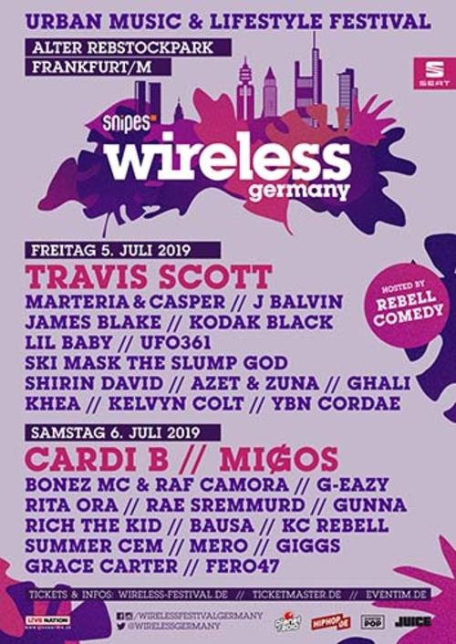 (C) Wireless Germany / Wireless Germany 2019 Poster / Zum Vergrößern auf das Bild klicken
