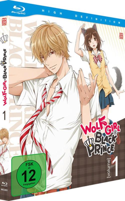 (C) KAZÉ Anime / Wolf Girl & Black Prince Vol. 1 / Zum Vergrößern auf das Bild klicken