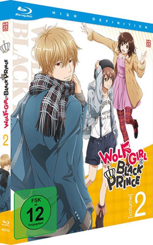 (C) KAZÉ Anime / Wolf Girl & Black Prince Vol. 2 / Zum Vergrößern auf das Bild klicken