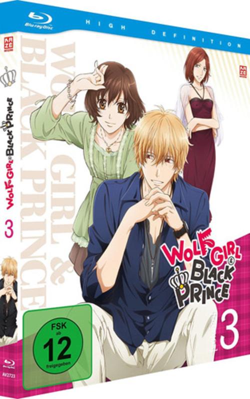 (C) KAZÉ Anime / Wolf Girl & Black Prince Vol. 3 / Zum Vergrößern auf das Bild klicken