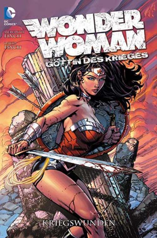 (C) Panini Comics / Wonder Woman - Göttin des Krieges 1 / Zum Vergrößern auf das Bild klicken