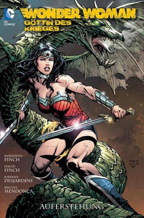 (C) Panini Comics / Wonder Woman - Göttin des Krieges 3 / Zum Vergrößern auf das Bild klicken