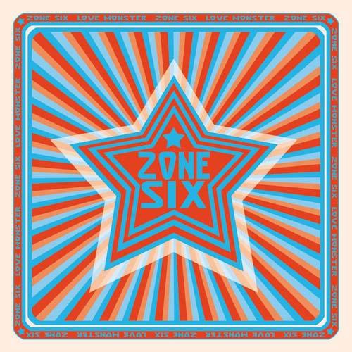 (C) Sulatron-Records / ZONE SIX: Love Monster / Zum Vergrößern auf das Bild klicken