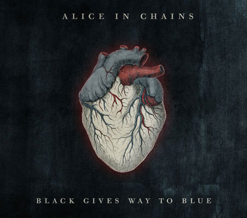 ALICE IN CHAINS black gives way to blue (c) Virgin Records / Zum Vergrößern auf das Bild klicken
