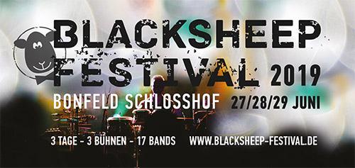 (C) blacksheep Festival / blacksheep Festival 2019 Logo / Zum Vergrößern auf das Bild klicken