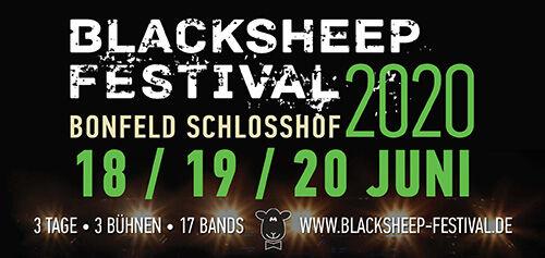 (C) blacksheep Festival / blacksheep Festival 2020 Logo / Zum Vergrößern auf das Bild klicken