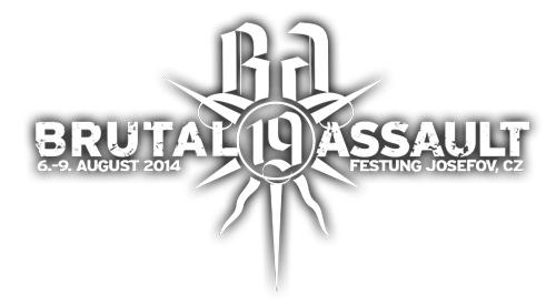 (C) Brutal Assault / Brutal Assault Logo 2014 / Zum Vergrößern auf das Bild klicken