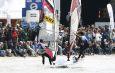 Finalaction vor dem Ufer - Akgazciyan und Frans @ DWARF8 Surf Worldcup 2009 (c) DMG Chris Singer / Zum Vergrößern auf das Bild klicken