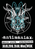 ANTIMANIAX Wien 2018 Flyer
