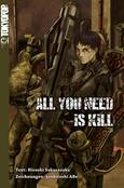 (C) Tokyopop / All You Need Is Kill Novel / Zum Vergrößern auf das Bild klicken