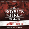BOYSETSFIRE 25 years Teaser