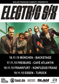 ELECTRIC SIX Tourflyer 2015