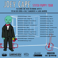 JOEY CAPE Stitch Puppy Tourposter