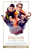 Kingsman: The Secret Service Plakat