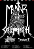 MANTAR SKELETONWITCH Tour 2018 Flyer
