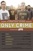 ONLY CRIME Tour 2014 Flyer