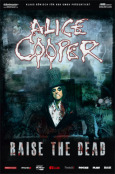 ALICE COOPER Raise The Dead Tourposter