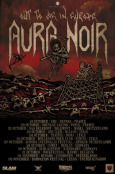AURA NOIR Out To Die In Europe Tour Flyer