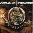 CEPHALIC CARNAGE xenosapien (c) Relapse/SPV / Zum Vergrößern auf das Bild klicken