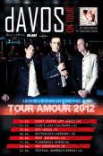 (C) dAVOS / dAVOS Tour 2012 Flyer / Zum Vergrößern auf das Bild klicken