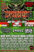 (C) Extremefest/Catapult Promotion / Extremefest 2012 Flyer / Zum Vergrößern auf das Bild klicken