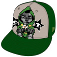 Dr. Doom 59fifty Fitted Cap (C) New Era Cap Company Tokidoki