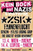 (C) Kein Bock auf Nazis Festival / Kein Bock auf Nazis Festivalflyer / Zum Vergrößern auf das Bild klicken
